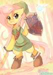 Fluttershy - Hero of Time by pekou