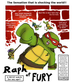 Raph of FURY the movie! by AnimeWaterFall