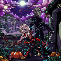 Boss Monster Halloween - 2013 by Kayzig
