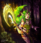Soraka Dryad by RocherKnight