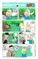 Random Adventure Time Comic: Hunted, Page 1 by Lulu-ichigo