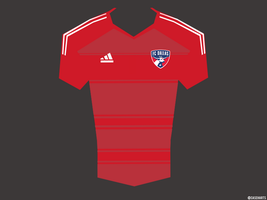 FC Dallas MLS Jersey by caseharts