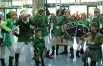Link Group Shot at Anime Expo 2012 by R-Legend
