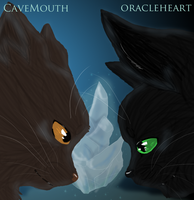 Cavemouth and Oracleheart by TangledInInk
