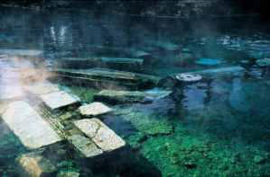 Antique Pool - Pamukkale by wowturkey