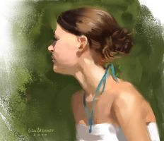 Summer Portrait by Zippora