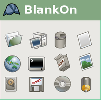 BlankOn Icon Pack for Gnome by ncus