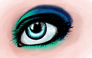 Eyes Like Stars by collie-rado