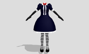 MMD Witchy style Lolita by amiamy111