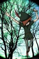 A Darker Side of Peter Pan by pyrokitty19283
