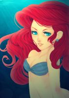 Ariel Mermaid by GoddessDark
