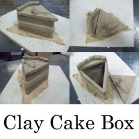 Clay Cake Box by AirixAram