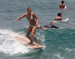 surfer girl 1 by manaphoto-stock