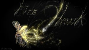 Fractal Fire Hawk by whitt107