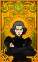 Lin Beifong by Nortiker