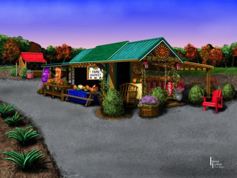 Eva's Farm Market by Belote-Art