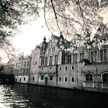 Fall in Bruges by DarkCrissus