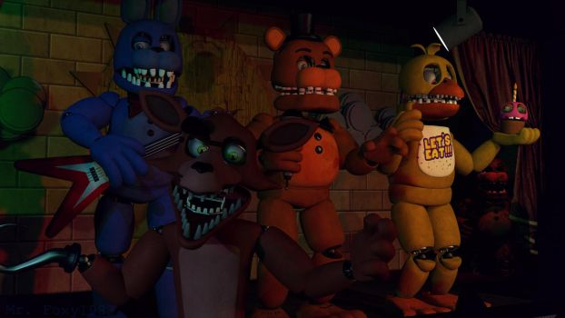 [SFM/FNAF/Contest] The Unwithereds by MrFoxy1983