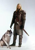 Eomer and His Daemon by LJ-Todd