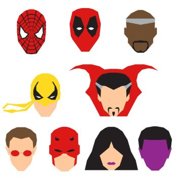Marvel Icons by mattmagargee