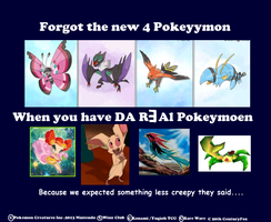 oh new Real pokemon by RougeSulfura
