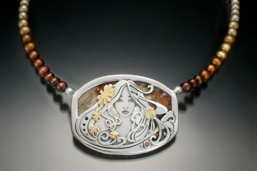 Gaia, Mother Earth by KellyMorgenJewelry