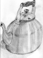 Wonky Kettle by Shutsumon