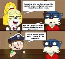 Animal Crossing 3DS:  Mayor by T-3000