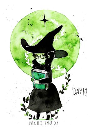 Inktober 2016 : day 10 by Owlyjules