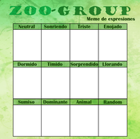 Zoo Group- Meme de expresiones by Tsubey