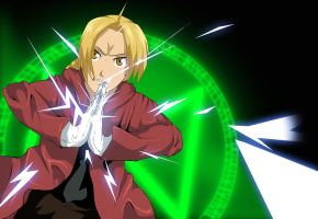 FullMetal Alchemist Brotherhood Edward Elric clap by Mr123GOKU123