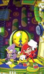 Knuckles Chaotix Amazing Arena by spacepig22