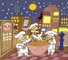 A night in the night kitchen by Salvini