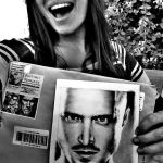 Aaron Paul's sister Danielle - with my Drawing by Doctor-Pencil