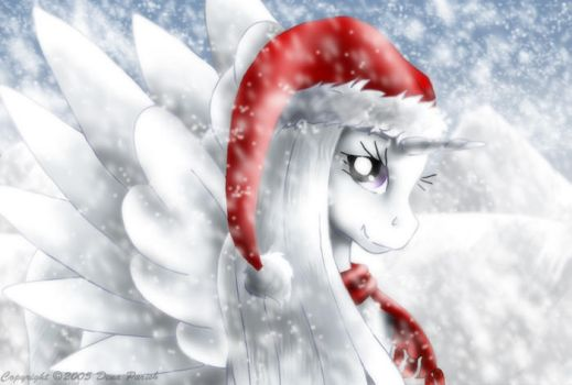 Christmas Snow fall by FlyingPony