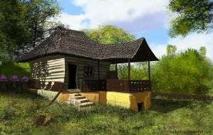 old house by LorDeimos