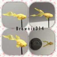 Polymer clay goldfish by Brownie314