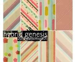 2012 HG Pattern Set 01 by In5omn1ac