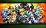 The Legend of Zelda Hyrule Warriors Wallpaper by PikachuStar93