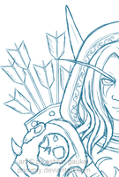 Male Sylvanas by Primmly