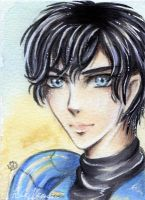 ACEO Takeshi - Duklyon by Khallandra