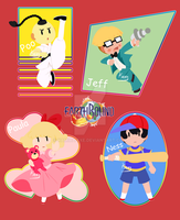 Mother 2 - Team Ness by Kamira-Exe