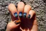 The Hobbit Nail Art - An Unexpected Journey by aniapaluch