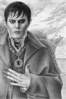 Johnny Depp is Barnabas Collins - Tall by kelch12