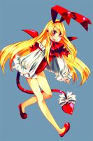 Flonne the Fallen Angel by CaptainStrawberry