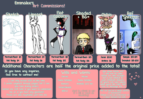 Commission Sheet 2012 --OPEN-- by fuhrer