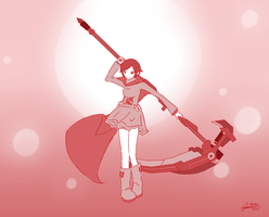 RWBY - Ruby by DivYes