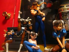 Chun Li Figures by kenta11