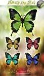 Butterfly PNG Stock V01 by SK-DIGIART