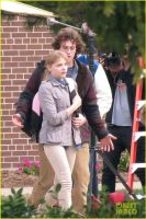 Kick-Ass 2: Chloe Grace Moretz and Aaron Johnson by Mark35950